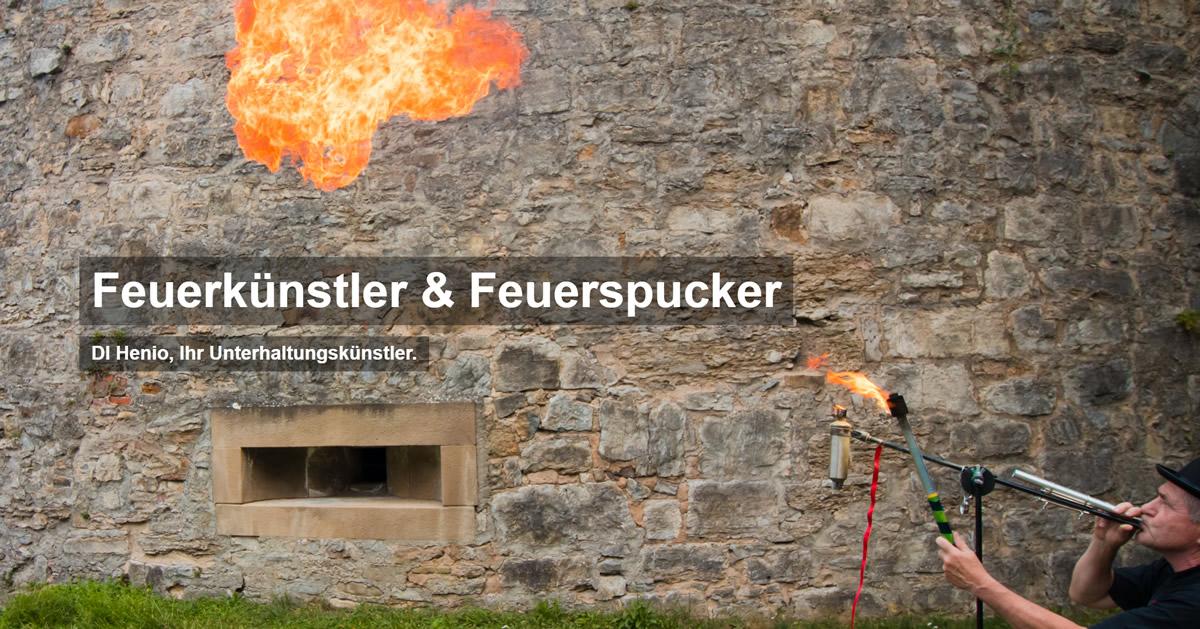 Feuerspucker, Feuerkünstler & Feuershows für  Siegelsbach